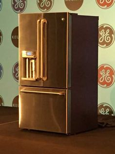 The GE Cafe Series refrigerator with Keurig K-Cup Brewing System (Source: Katie Bauer, WAVE 3 News)