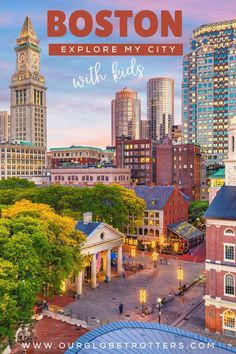 Explore the city of Boston with your kids. Here are the best things to see and do according to a local, Keri from Bon Voyage with Kids | US Travel Destinations | vacations with kids | City breaks with kids | the best of Boston Massachusetts | Explore My City guest series on Our GlobetrottersFamily Travel Blog Best Family Vacation Destinations, Us Travel Destinations, Amazing Destinations, Vacations, Usa Travel Guide, Travel Usa, Boston With Kids, Boston Things To Do, Boston Massachusetts