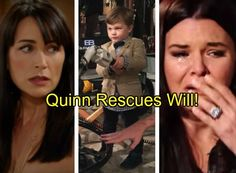 The Bold and the Beautiful Spoilers: Quinn Saves Will's Life, Katie Eternally Grateful for Dramatic Rescue?
