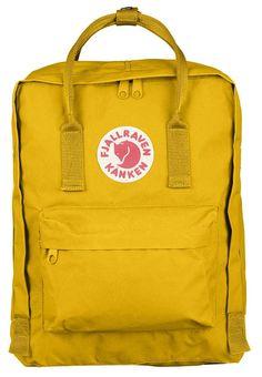 Fjällräven Kånken backpack, yellow