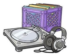 dj turntables drawings, #djculture #musicart http://www.pinterest.com/TheHitman14/dj-culture-vinyl-fantasy/