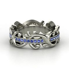 This ring is stunning! Planning a renewal of vows - this may end up being my new wedding band. :) LOVE it!