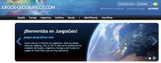 Juegos-geograficos.   http://www.juegos-geograficos.com/ http://www.ayudaparamaestros.com/2015/02/juegos-geograficos.html
