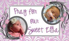 Ellia's Hospital Bills on GoFundMe - $1,050 raised by 21 people in 21 hours.