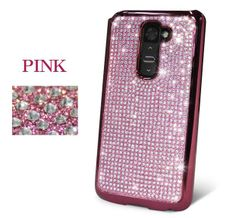 LG G2 Dreamplus Persian Crystal Cubic Bling Case - Pink