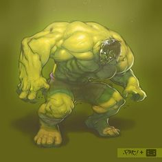 """Hulk ... """"lines"""" by chuck pires"""