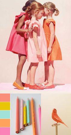 Spring / Summer 2015: Pink, Orange and Mint