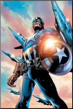 Captain America (Steve Rogers) is a fictional character, a superhero in the…