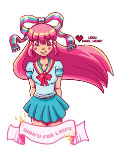Lady Pixel Heart's Art