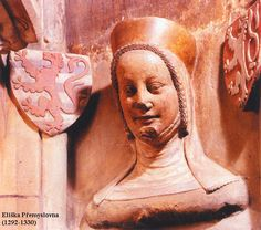 Eliška Přemyslovna, dcera českého a polského krále Václava II. a manželka Jana Lucemburského, krále českého, polského a hraběte lucemburského