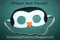 Penguin Mask Tutorial