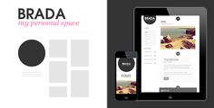 Brada - Innovative Bootstrap Template
