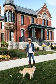 Meeting Nicole Curtis, Lucy and touring the house...best experience ever!