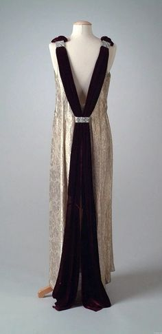 Dress -1934 - The Meadow Brook Hall Historic Costume Collection
