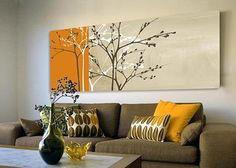 Картины в интерьере / Блог им. admin / Дом в стиле - архитектура и дизайн интерьера