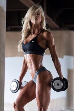 The Best Bodybuilding Workouts Program: Best Workout Routine to Build Muscle Revealed! Girls With Abs, Ripped Girls, Girls Fit, Fit Girls Images, Best Workout Routine, Fitness Motivation, Fitness Goals, Muscular Women, Muscle Girls