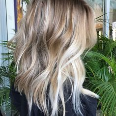 Blonde Balayage✨ #loira #beauty #nature #mechascriativas #romeufelipe
