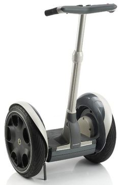 A Segway. Super Intuitive design. Want!