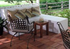 how to build outdoor patio bench with ottoman/chaise #diy #patio #furniture