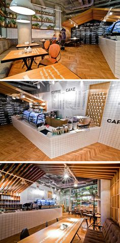 Fruit Design have recently completed Coffee Cake, a cafe in Nizniy Novgorod, Russia.