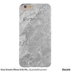 Gray Granite iPhone 6/6s Plus Case Barely There iPhone 6 Plus Case