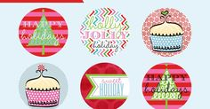 Party Box Design: FREE Holiday Printables...