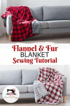 Afghans & Throw Blankets Home Décor Baby Soft Faux Fur Throw Capable Tartan Love Fleece Blanket