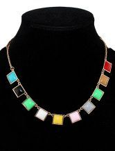 Colorful Gemstone Necklace