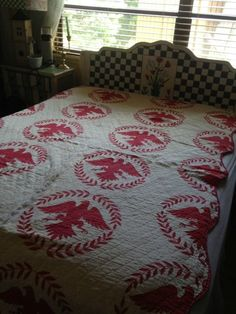 eagle quilt on ebay I like this pattern ~♥~