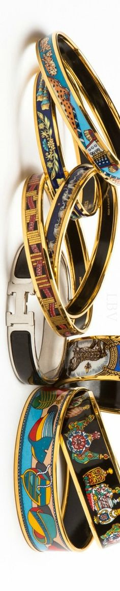 Hermes Bangles | LBV ♥✤ . . .#accessories