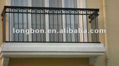 modern wrought iron railings | Top-selling modern outdoor wrought iron balcony railing