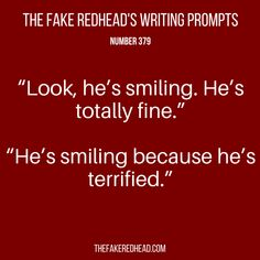 Writing Prompts No. 301-400 – The Fake Redhead Writes