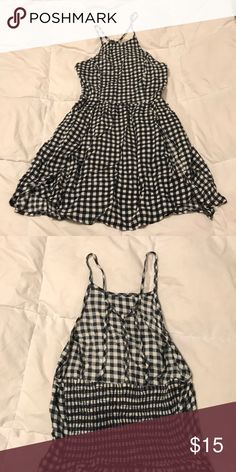 Abercrombie & Fitch plaid sundress size small Almost brand new, worn once! Abercrombie & Fitch Dresses Mini
