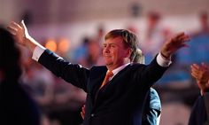 King Willem-Alexander of the Netherlands was more than happy to get involved with the audience participation part of the Olympics Opening Ceremony. The 49-year-old was seen laughing and smiling as he waved his arms around during the four hour show.