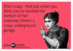 Watch out for the underground garage!