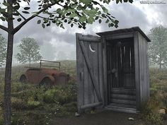 I sure did hate that little old building..................................Google Image Result for http://visualparadox.com/images/no-linking-allowed-main/outhouse800.jpg