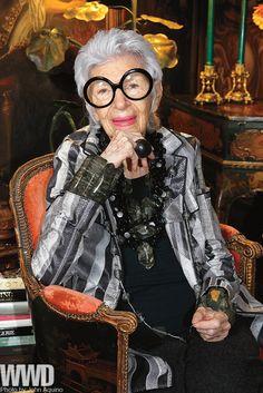 wwd - Iris Apfel Talks HSN Shoe Collection ...