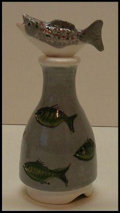 Stuart Bass 2 Piece Fish Pie Bird Funnel Made in England | eBay