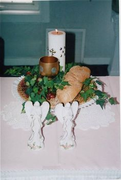 First Holy Communion Centerpiece