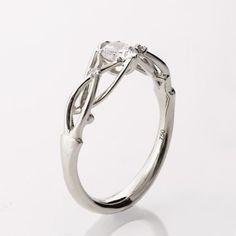 Celtic Engagement Ring Platinum engagement ring by doronmerav A Watt?