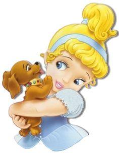Disney Princess Babies, Baby Cinderella, Disney Babys, Disney Princess Pictures, Baby Princess, Disney Pictures, Kawaii Disney, Cute Disney, Disney Magic