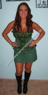 Coolest Homemade Poison Ivy Halloween Costume Idea  sc 1 st  Pinterest : superhero and villain costume ideas  - Germanpascual.Com