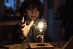 Flyte:  Set the light bulb free - FLYTE is a levitating light which hovers by magnetic levitation and is powered through the air. With FLYTE, we've set the light bulb free.
