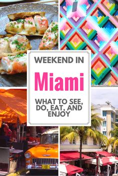 to do in Miami: Must-Visit Spots and Activities Heading off on a weekend in Miami soon and looking for things to do in Miami? We've got you covered!Heading off on a weekend in Miami soon and looking for things to do in Miami? We've got you covered! Visit Florida, Florida Vacation, Florida Travel, Miami Florida, Florida Beaches, Travel Usa, City Beaches, Florida Keys, Travel Deals