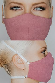 Mouth Mask Fashion, Fashion Face Mask, Diy Mask, Diy Face Mask, Lace Mask, Techniques Couture, Protective Mask, Pink Sequin, Blush Pink