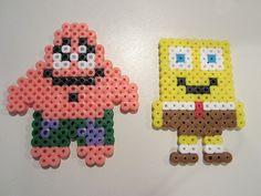 Patrick Sponge Bob perler beads