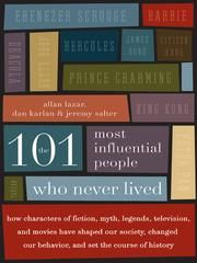 A list of influential fictional characters, this is a fun book to discuss with others.