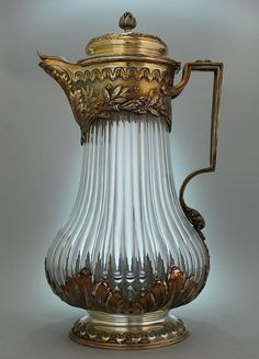 French Champagne Decanter