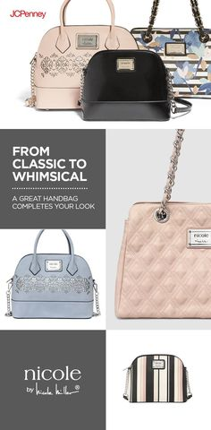 23760cc8f34916 Forget diamonds—a handbag is a girl's real best friend! JCPenney has a huge