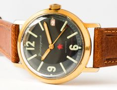 Coveting vintage watches on Etsy - Soviet military wristwatch Komandirskie/Vostok